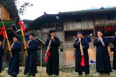 härliga byar för porslinguizhou original Royaltyfria Bilder
