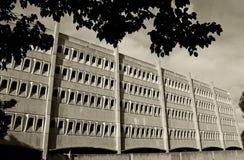 Härliga byggnader för Biomedical vetenskap, UCSD royaltyfria foton