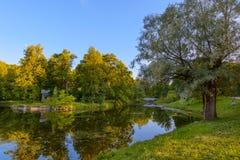 Härliga Catherine Park pushkin Ryssland Royaltyfri Foto