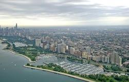 härliga chicago Royaltyfri Fotografi