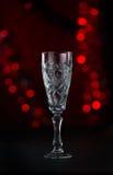 Härliga crystal bägare för champaign Royaltyfri Fotografi