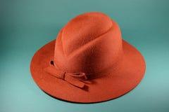 Härliga damers hatt Royaltyfri Foto