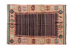 Härliga dekorativa handgjorda antika filtar Royaltyfri Fotografi