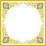 Härliga detaljerade tömmer ramen Royaltyfri Foto