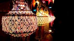 Härliga Diwali lyktor royaltyfri bild