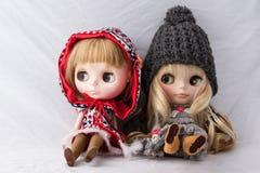 2 härliga dockor Arkivbild