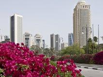 Härliga Doha royaltyfri fotografi