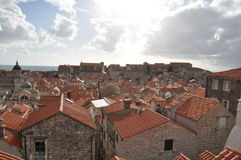 Härliga Dubrovnik Arkivbild