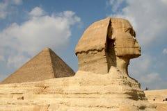 härliga egypt Arkivbild