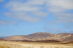 Härliga färger av den Atacama öknen, Chile Royaltyfria Bilder