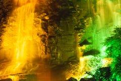 Härliga färgnedgångar arkivfoto