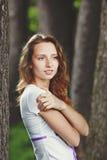 härliga flickaband Fotografering för Bildbyråer