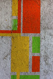 Härliga gatakonstgrafitti E Royaltyfri Bild