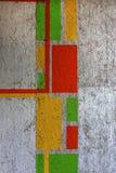 Härliga gatakonstgrafitti E Arkivfoton