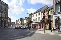 Härliga gator av Kilkenny Arkivfoton