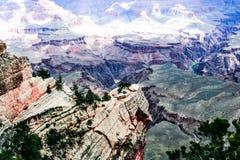 Härliga Grand Canyon i nordliga Arizona Royaltyfri Foto
