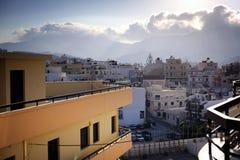 Härliga Grekland, underbar ö Fotografering för Bildbyråer