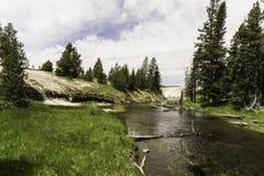 Härliga Hot Springs Arkivfoton