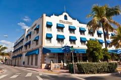 Härliga hus i Art Deco stil Fotografering för Bildbyråer