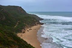 Härliga Johanna Beach i Victoria Arkivbild