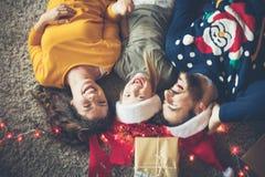 Härliga juldagar royaltyfria bilder