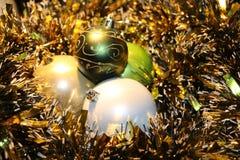 Härliga julleksaker Royaltyfri Fotografi