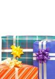 härliga julpackar Fotografering för Bildbyråer