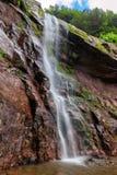 Härliga Kaaterskill nedgångar på Catskills berg arkivbilder