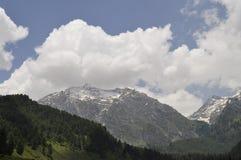Härliga Kashmir Arkivfoto
