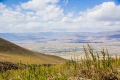 Härliga Kirghistan berg Arkivbilder