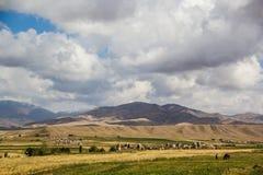 Härliga Kirgizstan Arkivbilder