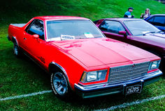 Härliga klassiska bilar arkivbild
