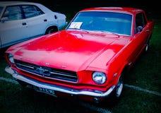 Härliga klassiska bilar Arkivfoton
