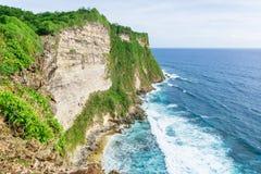 Härliga klippor i Bali Royaltyfri Fotografi