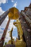 Härliga konster och arkitektur på den huvudsakliga pagoden av Wat Pha Sorn KaewWat Phra Thart Pha Kaewin Khao Kho, Phetchabun, no Fotografering för Bildbyråer