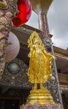 Härliga konster och arkitektur på den huvudsakliga pagoden av Wat Pha Sorn KaewWat Phra Thart Pha Kaewin Khao Kho, Phetchabun, no Royaltyfri Bild