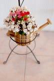Härliga konstgjorda blommor Royaltyfria Bilder