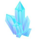 Härliga kristaller Fotografering för Bildbyråer