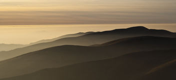 Härliga kullar Royaltyfri Bild