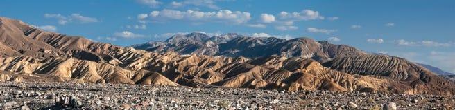 Härliga kullar i Death Valley Fotografering för Bildbyråer