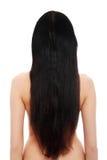 Härliga långa hår Arkivbilder