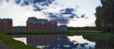 Härliga landskap av naturen av Vitryssland Royaltyfria Bilder