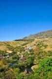 Härliga landskap, berg Arkivbilder