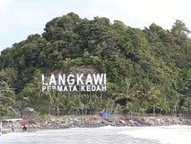 Härliga Langkawi Royaltyfria Bilder