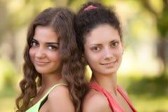 Härliga latinska flickor för stående Arkivfoton