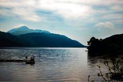 Härliga lynniga Loch Lomond Arkivbilder
