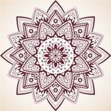 Härliga Mandala Decor Vector Element vektor illustrationer