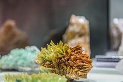 Härliga mineralstenar Fotografering för Bildbyråer