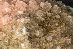 Härliga mineralstenar Arkivfoton