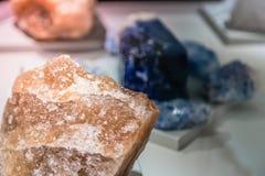 Härliga mineralstenar Arkivbilder